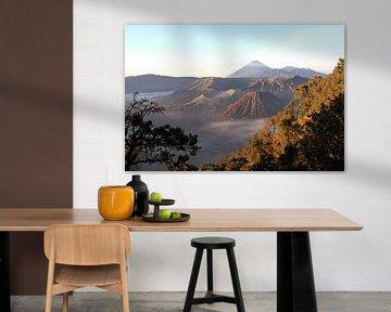 Bromo vulkaan in Indonesië van Gert-Jan Siesling