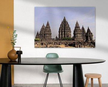 Prambanan tempel in Indonesië van Gert-Jan Siesling