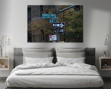 Straatnaamborden in New York van Gert-Jan Siesling