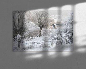 sneeuwlandschap van gj heinhuis