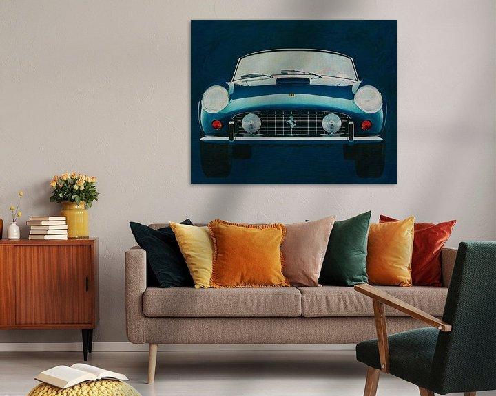 Beispiel: Ferrari 250GT Spyder California 1960 Vorderseite von Jan Keteleer