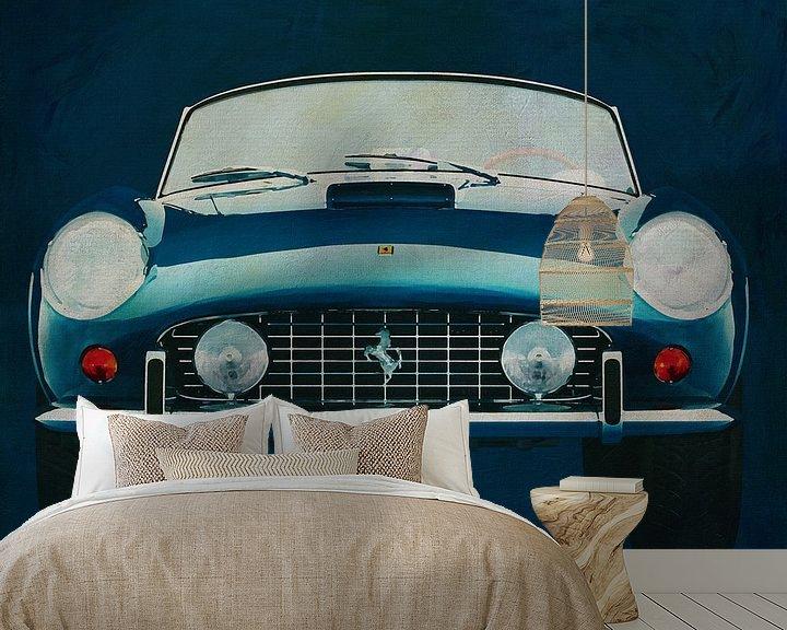 Beispiel fototapete: Ferrari 250GT Spyder California 1960 Vorderseite von Jan Keteleer