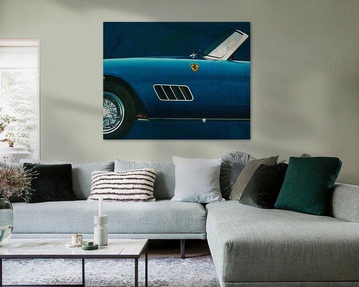 Sfeerimpressie: Ferrari 250GT Spider California van Jan Keteleer