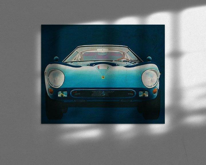 Sfeerimpressie: Ferrari 250GTO 1964 Voorkant van Jan Keteleer