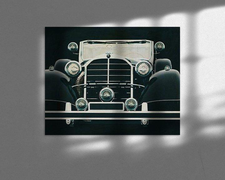 Sfeerimpressie: Mercedes 770K Limousine van Jan Keteleer