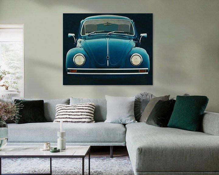 Impression: Volkswagen Beetle Sedan 1972 Face avant sur Jan Keteleer