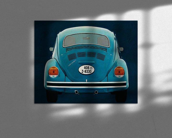 Sfeerimpressie: Volkswagen Kever Sedan 1972 Achterkant van Jan Keteleer