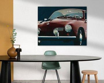 Volkswagen Karmann Ghia 1959 Voorkant