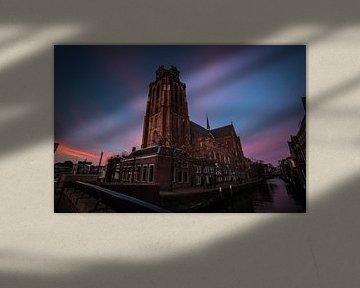De Grote of Onze-Lieve-Vrouwekerk te Dordrecht van Hans Oskam