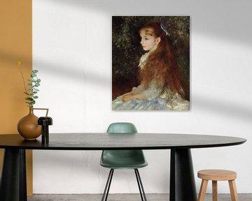 Portret van Mademoiselle Irène Cahen d'Anvers (Kleine Irene), Pierre-Auguste Renoir