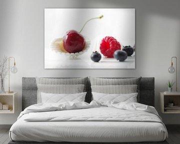 Vers zomerfruit stilleven van Tanja Riedel