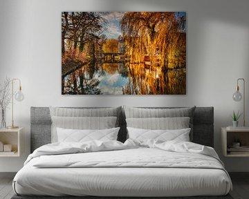 Gouden herfst bij Kasteel Wijlre van Rob Boon