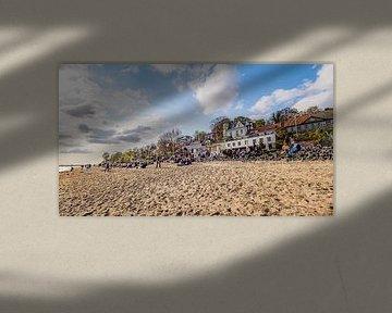 HAMBURG Strandperle 16:9 Panoramabild