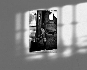 Oldtimer child von Frank Hensen