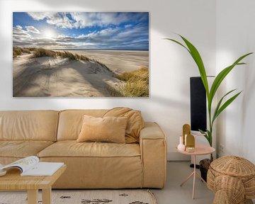 Duingebied van Texel. van Justin Sinner Pictures ( Fotograaf op Texel)