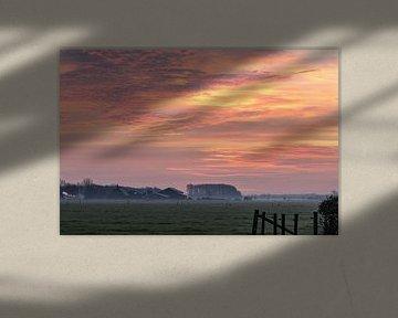 wolkenpracht van Tania Perneel