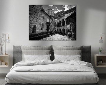 Klooster Griekenland van José Lugtenberg
