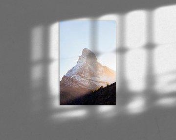 De Matterhorn in Zwitserland van Werner Dieterich
