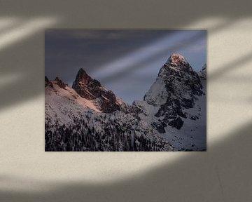 De winter in Berchtesgaden van Thomas Weber