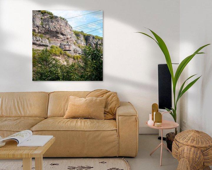 Beispiel: Seilbahn in Chiatura. von Roman Robroek