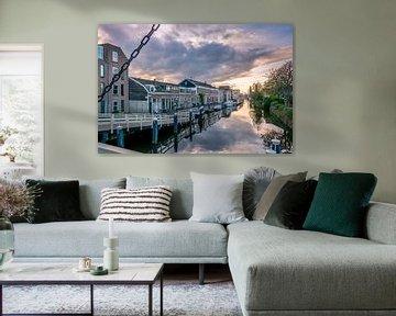 Utrechtse Jaagpad, Leiden