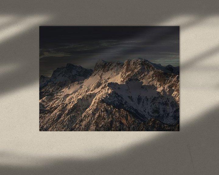 Beispiel: Untersberg wacht auf von Thomas Weber