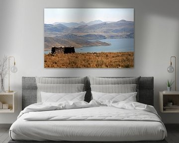 Andes bergmeer
