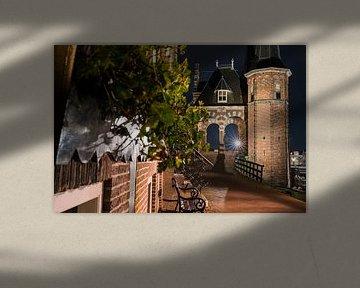 Das Wassertor von Sneek im Renaissance-Stil von Fotografiecor .nl
