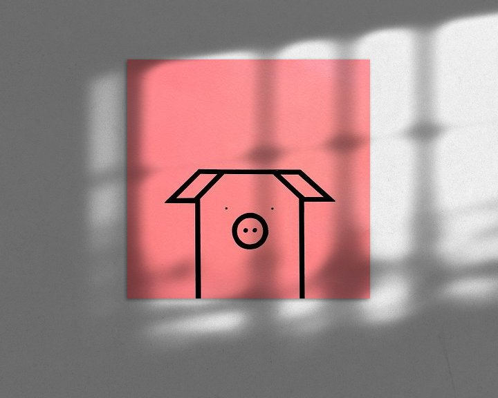 Sfeerimpressie: SWEET PINK-BLACK van Ans de Bie