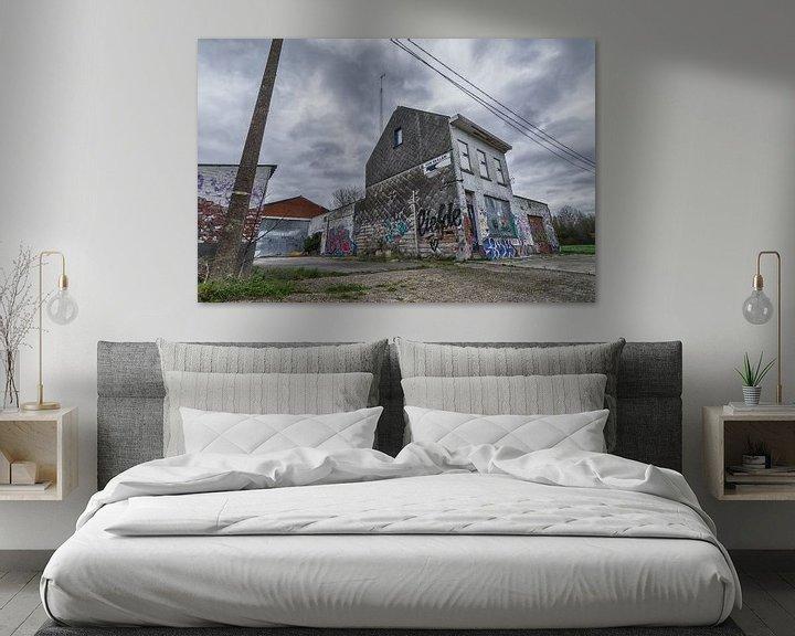 Sfeerimpressie: Vervallen huis van Mark Bolijn