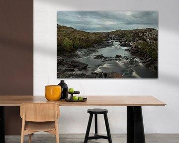 Waterval in Schotland van Sharona Sprong