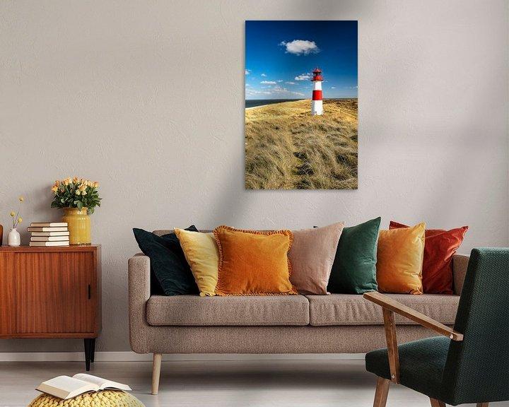 Beispiel: Leuchtturm auf Sylt von Achim Thomae