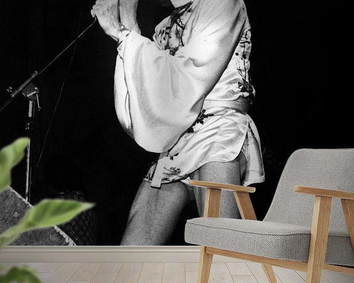 Beispiel fototapete: David Bowie auf der Bühne während der Ziggy Stardust Tour von Bridgeman Images
