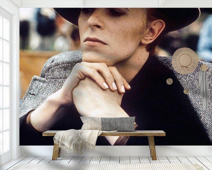 Beispiel fototapete: David Bowie in Der Mann, der auf die Erde fiel von Bridgeman Images