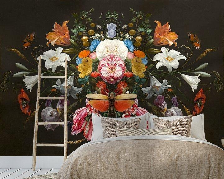 Sfeerimpressie behang: Still Life - The Wondering van Marja van den Hurk