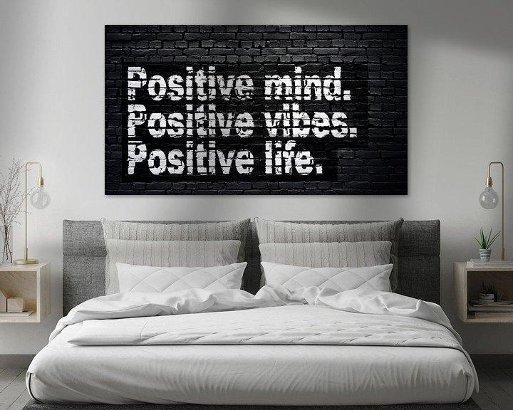 Sfeerimpressie: Positieve geest, positieve vibraties, positief leven. van Günter Albers