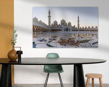Sheikh Zayed Mosque Abu Dhabi van Jeroen Kleiberg