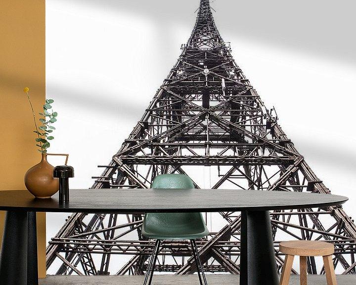 Sfeerimpressie behang: Radio toren Gliwice van Eric van Nieuwland