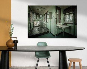 The Hef controle room van The Pixel Corner