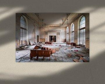 Theater im Verfall. von Roman Robroek