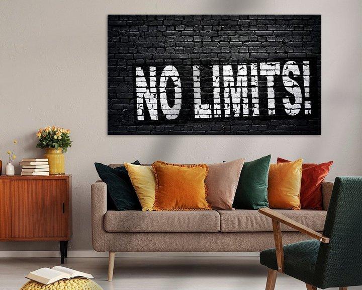 Sfeerimpressie: Geen grenzen! van Günter Albers