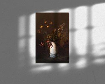 Stilleben mit Blumen von Saskia Dingemans