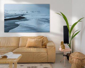 Reynisfjara Black Sand Beach in Ijsland