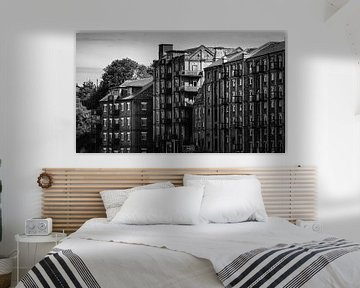 Industrial Mistley In Black & White sur Urban Photo Lab