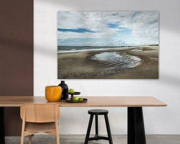 Strand Zeeland van Bianca Boogerd