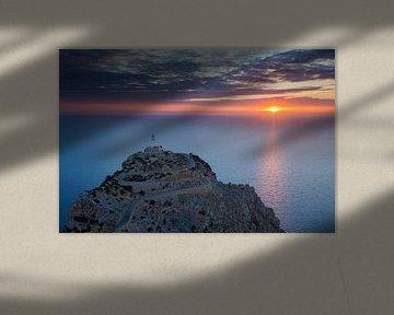 Mallorca, Spanje, Vuurtoren van Frank Peters
