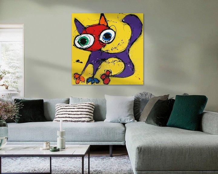 Sfeerimpressie: Yellow Cat van Jacky Zegers