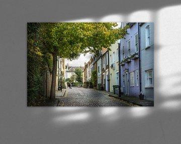 Die romantischen Straßen von Notting Hill von Reis Genie