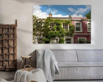 Bunte Häuser in der Portobello Road in London von Reis Genie