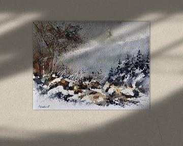 Winter im Wald von pol ledent